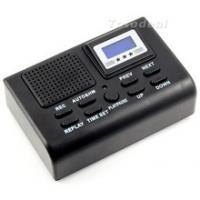 Mini Digital Telephone Voice Recorder Automatically record conversations LCD displays