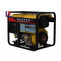 Air - Cooled Direct Injection 5kw Small Diesel Portable Generator with AVR
