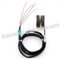 Buy cheap Heat Exchange Spring Hot Runner System Coil Heaters With J Type Thermocouple from wholesalers