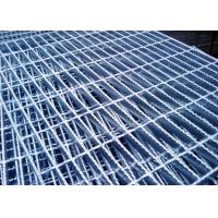 Best 32x5 25x5 Serrated Bar Grating Industrial Floor Grates 10mm-2000mm Width wholesale