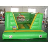 Best Green Inflatable Castle Bouncer , Advertising Bouncy Castle wholesale