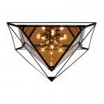 Best minimalist ceiling lamp personality lamps aisle hotel cafe glass diamond creative wholesale