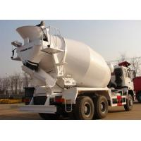 Best 8 Cbm Mobile Concrete Mixer Truck With Sinotruk HOWO 6x4 Truck Chassis wholesale