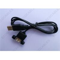 Best Black UL2725 A/M To A/F USB Extension Cable For Signal 1000MM Length wholesale