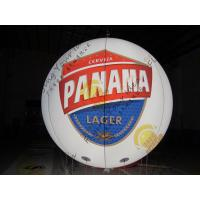Cheap Customized Inflatable Advertising Balloon , LED Light Inflatable Helium Balloon for sale