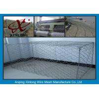 Best Hot Dipped Gabion Rock Wall Cages , Reno Mattress & Gabion Basket Fence wholesale