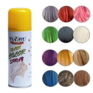 Best Multi  Colors Temporary Gray Hair Spray , Waterproof Washable Hair Color Spray wholesale