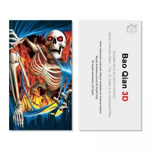Best Plastic PET 3D Flip Lenticular Card Printing For Hotel , Restaurant wholesale