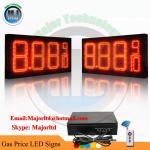 Best Outdoor Waterproof 8.88 9/10 petrol station price board wholesale