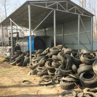 China 10 tons Good Price Waste Tyre Plastic To Fuel Oil Pyrolysis Plant for  crude oil on sale