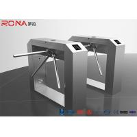 Best Rfid Access Control Tripod Turnstile Gate Single / Bi - Direction Communication Interface wholesale