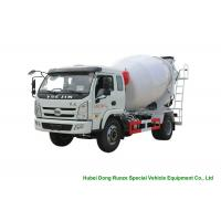 Best YUEJIN 5m3 Small Concrete Mixer Truck With Pump , 4x2 Mobile Mixer Truck wholesale
