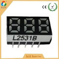 """Best Hot Selling Flexible LED Display Cheap Price 0.25"""" 7 segment LED Numeric Display 3 digits wholesale"""