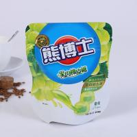 Best Resealable Biodegradable Stand Up Plastic Bags , Custom Printed Heat Seal Food Bags wholesale