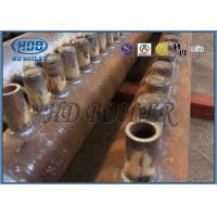 Best ASME Certification Boiler Manifold Headers , Carbon Steel Boiler Fired Boiler Parts For Power Plant wholesale