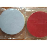 Cheap Lamb Sheep Skin Wool Car Polishing Pads With 1cm - 2.5 Cm Sponge Thickness for sale