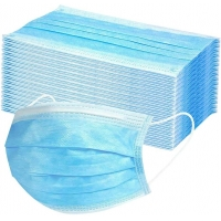 Antivirus 3 Ply Disposable Face Mask Personal Protective Equipment