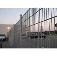 Best Hot Dipped Galvanized 656 Double Weft Welded Mesh Panel With Rectangular Post 60X80MM wholesale