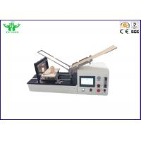 Best Flexible Material Flammability Class Testing Equipment With 500W Burner wholesale