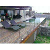 Quality Transparent SGP Balustrade Glass Fence Panels , Heat Toughened Safety Glass wholesale