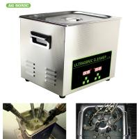 Best Automatic Industrial Dental Ultrasonic Cleaner Wash Tank 500 Watt For Car Parts wholesale