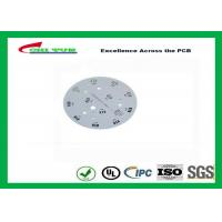 Best Electronic Aluminum PCB Manufacturer for LED lighting White Solder Mask Rould PCB wholesale