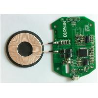 Cheap High Operating Frequency  Qi Receiver Phone Coil ISO9001 0.012mm - 1.2mm for sale