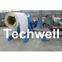 Best 5 Ton Hydraulic Auto Decoiler / Uncoiler Curving Machine With Uncoiling Speed 0 - 15m/min wholesale