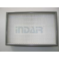 Best 0.3 Micron Clean Room HEPA Filters , 24 x 48 HEPA Filter With FM Approval wholesale