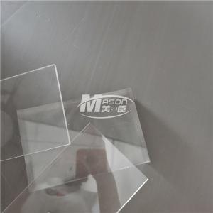 Best PMMA 122cm X 244cm 3mm Scratch Resistant Acrylic Sheet wholesale