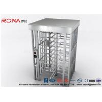 Best Indoor Or Outdoor Pedestrian Turnstile Security Systems Semi-Auto Mechanism Housing With CE Approved wholesale