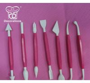 Best Fondant Decorating Modelling Tool Sets-Red wholesale