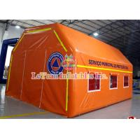 Cheap Water - Resistant PVC Inflatable Medical Tent Event Rescue Station Tent for sale