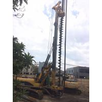 34.3 MPa Operating Pressure Rotary Piling Rig With 5° Forward 15° Backward Mast Inclination