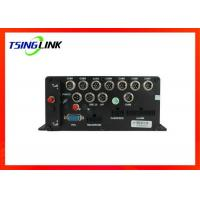 Best 8 Channel 1080p Vehicle Mobile Dvr Wireless Wide Voltage With Gps Tracking wholesale