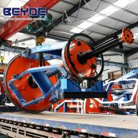 Best Energy Saving Laying Up Machine , 1+3 / 1600 Cable Twisting Machine For Cores wholesale