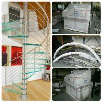 Cheap Chinese WroughtIiron Spiral Stairs/ Outdoor Spiral Staircase Prices / Used for sale