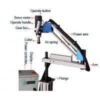 Quality 220Vsingle Phase Flex Tapping Arm Machine With Auto Tapping Funcation wholesale
