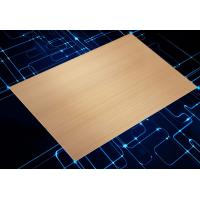 Buy cheap Electrics Panel Brushed Anodized Aluminum Sheet Customized Color For Constructio from wholesalers