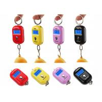 Best Red Pink Yellow Mini Portable Electronic Luggage Scale 25 Kg Colorful Gift Items wholesale