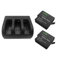 Best GoPro Accessory Set 2 Pack 3.85 V GoPro Hero 5 Battery with Triple Charger Kit wholesale