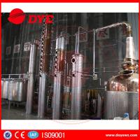 Best Micro Commercial Alcohol Distillation Machine In Grain / Corn Brewing wholesale