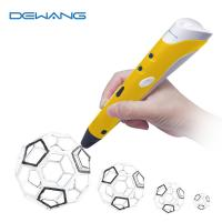 Best Lightweight 0.7mm Nozzle 3D Doodling Pen 3D Printing Pen With ABS Filament wholesale