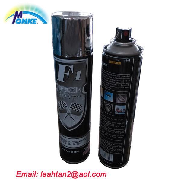 cheap 300ml f1 chrome aerosol spray paint of ec91136422. Black Bedroom Furniture Sets. Home Design Ideas