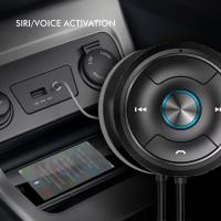China 2018 Car MP3 Audio Player Bluetooth Car Kit bluetooth music receiver FM Transmitter aux Dual on sale
