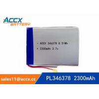 Best 346378PL 3.7V 2300mAh Lithium Polymer Battery wholesale