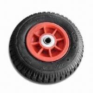 Best Wheelbarrow Air Wheel with Steel Rim, Ball Bearing and 210kPa Maximum Load wholesale
