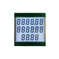 China Seven Segments 4 Digit Display HTN LCD Display For Fuel Dispenser on sale