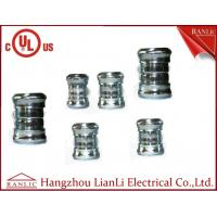 "Best 3"" 4"" Steel EMT Conduit Fittings Galvanized Compression Coupling UL Listed , Blue White wholesale"