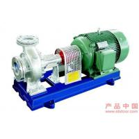 Best Single-Stage Suction Hot Oil Pumps For Industrial , Cantilever Type wholesale